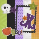 Boo To You Digital Scrapbooking Kit