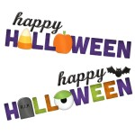 Fancy Happy Halloween Page Titles