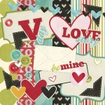 Love Story Digital Scrapbook Kit