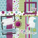 Garden Party Digital Scrapbooking Kit