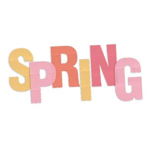 Spring Letter Page Title