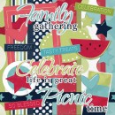 Picnic Time Digital Scrapbook Kit