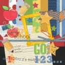 Back 2 School Digital Scrapbooking Kit
