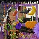 Spooky Halloween Scrapbook Kit