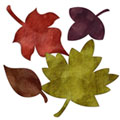 Crumple Fall Leaf Embellishment