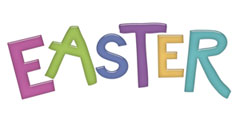 Easter Scrapbooking Page Title